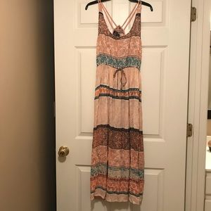 EUC Angie maxi dress